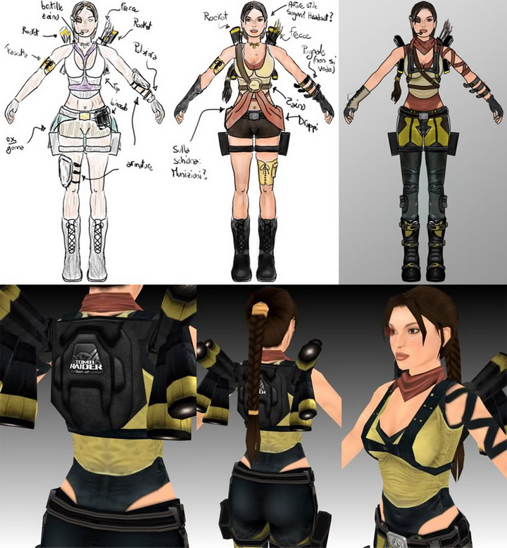 HyperSquare Making of LARA's OUTFIT