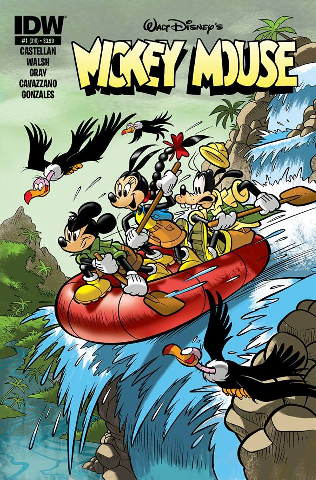 Eurasia Toast in Mickey Mouse #1 , USA comics