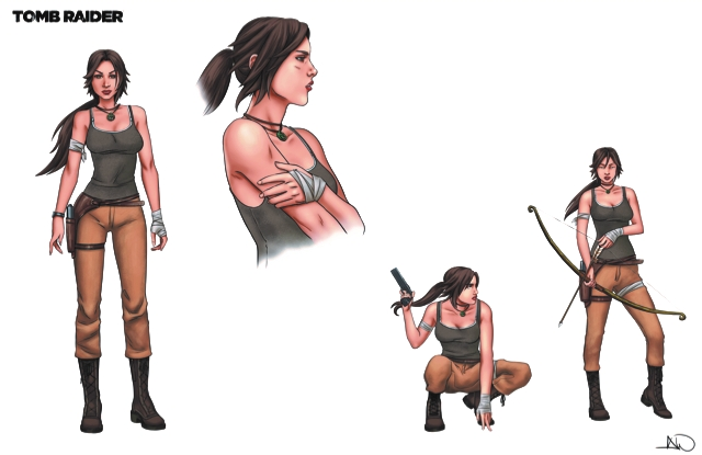 Tomb Raider:Survivor's Crusade sketch