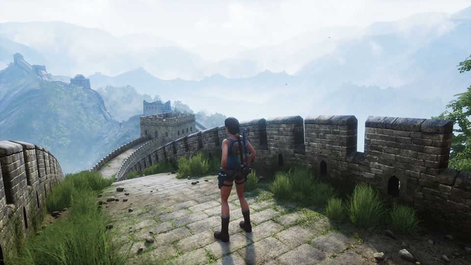 Tomb Raider DOX screenshot ingame