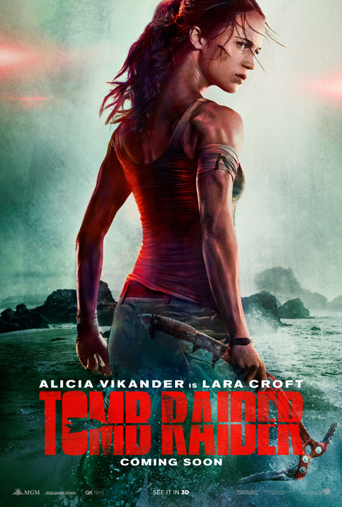 Tomb Raider Movie Teaser Poster