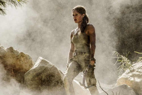 Tomb Raider Movie - Alicia Vikander