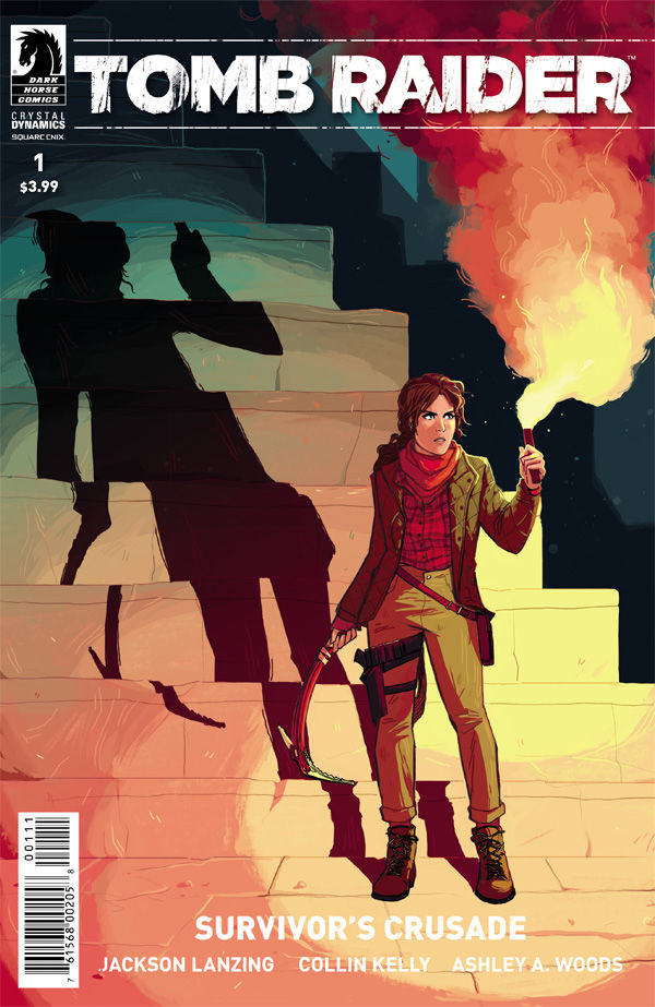 Tomb Raider:Survivor's Crusade 1 cover