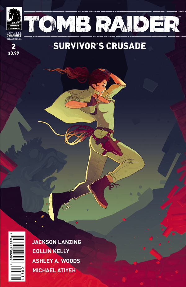 Tomb Raider:Survivor's Crusade 2 cover