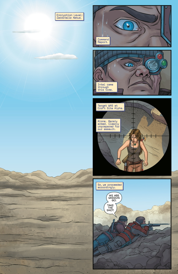 Tomb Raider:Survivor's Crusade pag. 1/5