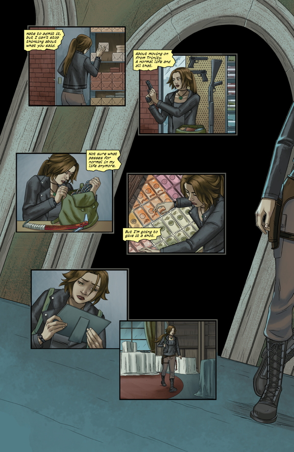 Tomb Raider:Survivor's Crusade pag. 1/6