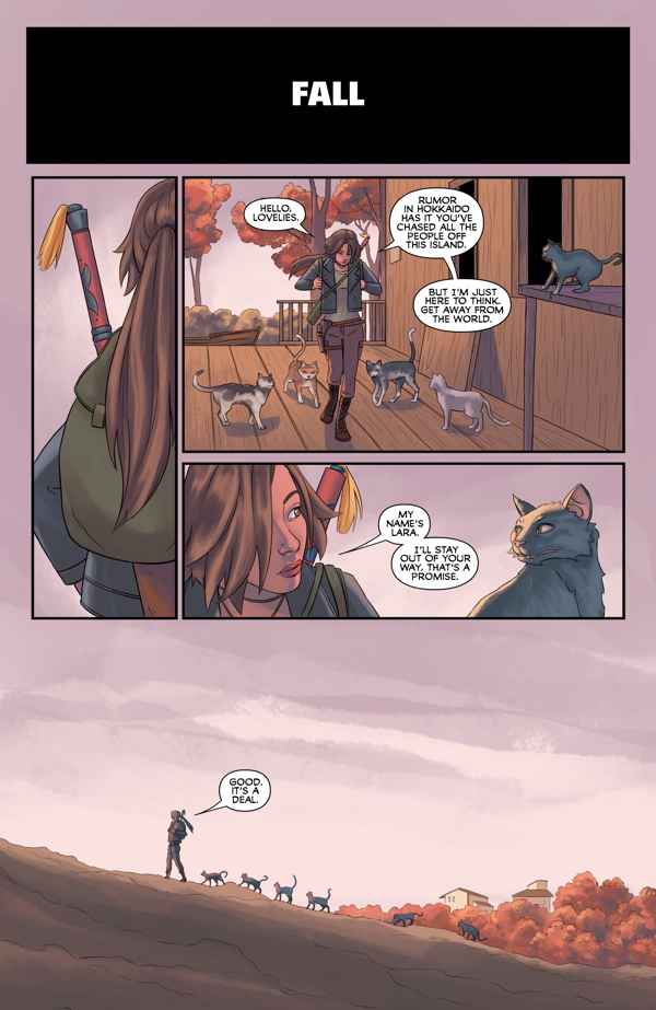 Tomb Raider:Survivor's Crusade pag. 5/6
