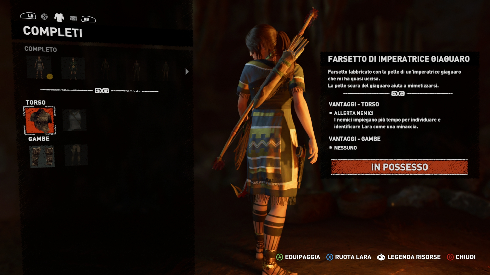 Shadow of the Tomb Raider completi di Lara Croft