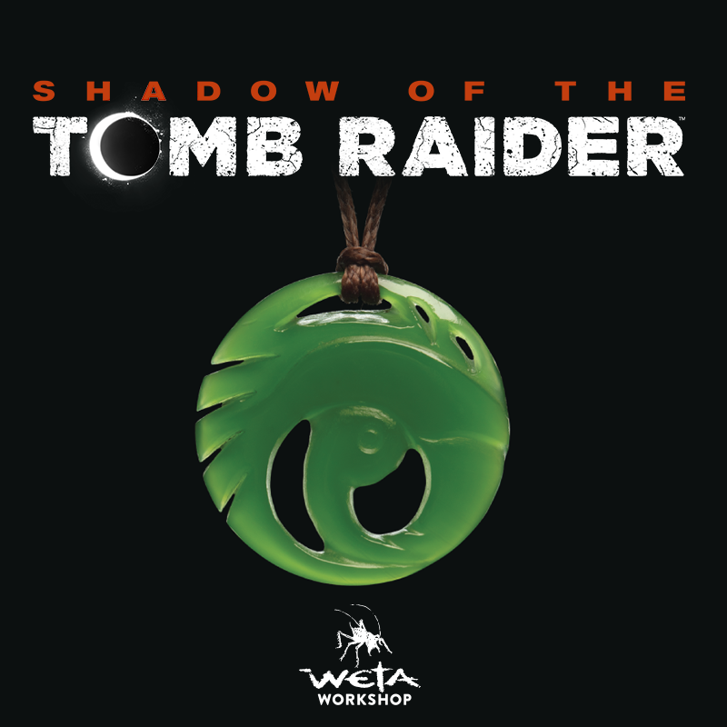 Shadow of the Tomb Raider necklace replica