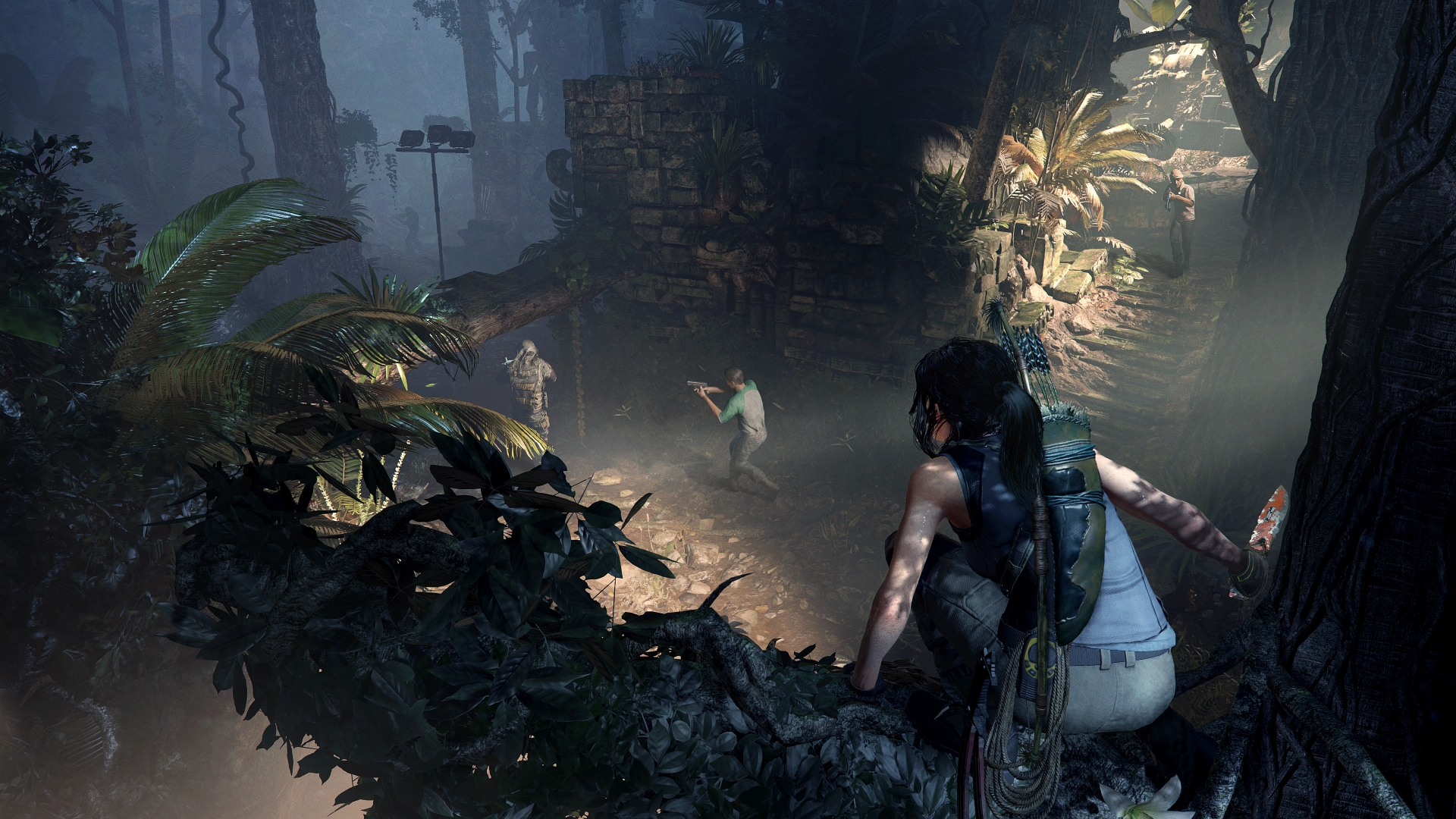 Shadow of the Tomb Raider nemici, screenshot ufficiale