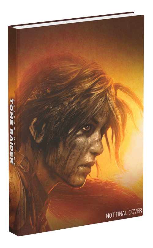 Shadow of the Tomb Raider official guide (cover provvisoria)