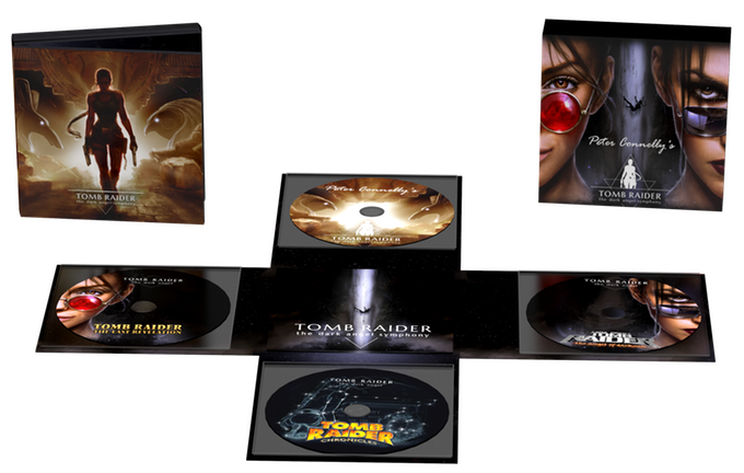 Tomb Raider: The Dark Angel Symphony packaging