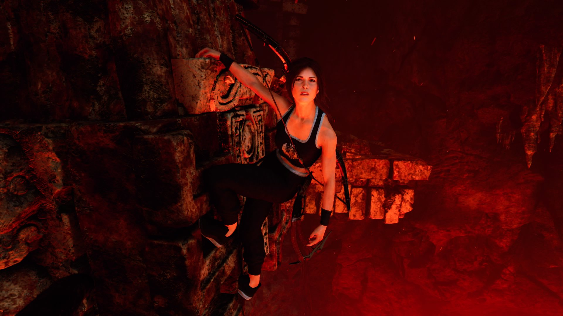 Shadow of the Tomb Raider Croft Fitness Outfit (screen by Nillc)