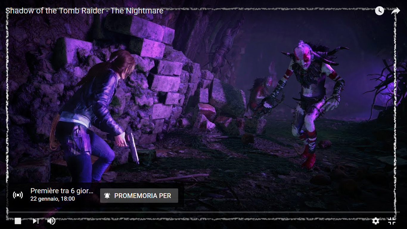 SotTR The Nightmare DLC video prémiere
