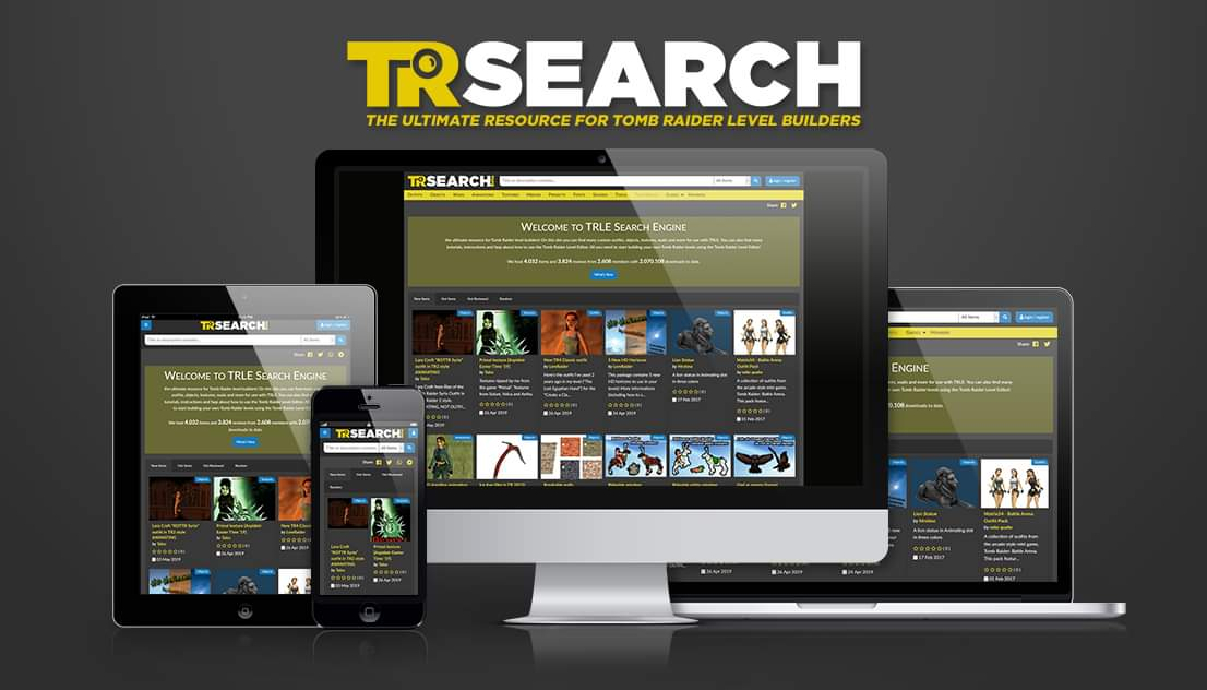 TRsearch.org back online
